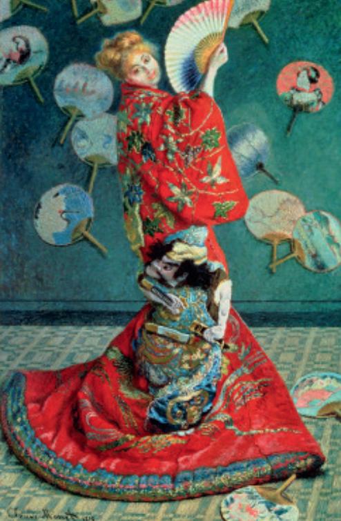 維也納的日本主義:從人物畫到廣泛裝飾風格