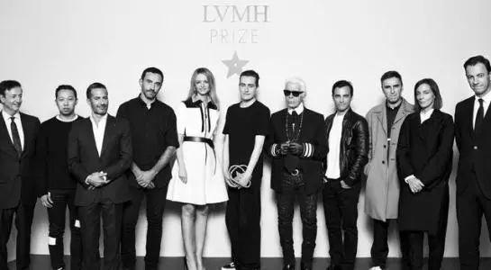 """2013年LVMH力邀""""老佛爷""""当评审,为LVMH评选新生代设计师。"""