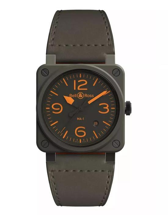 柏莱士BR 03-92 MA-1腕表