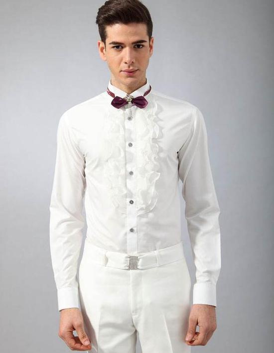 衬衫编年史 为什么有钱人总爱穿白衬衫烧焦的密文