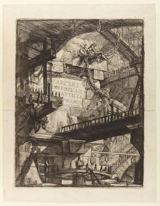 △ Giovanni Battista Piranesi 的版画作品(1745年)