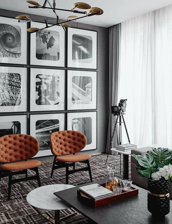家居照片墙 图片来源自Pinterest@K