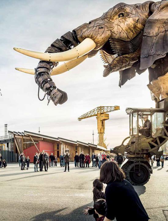 机械岛最著名的机械大象