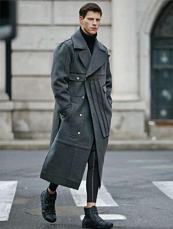 大衣是男人冬天最帅的穿着 但很多男生穿上去却总是特别丑