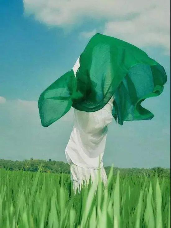 从去年火到今年的绿色 穿上能清凉整个夏天