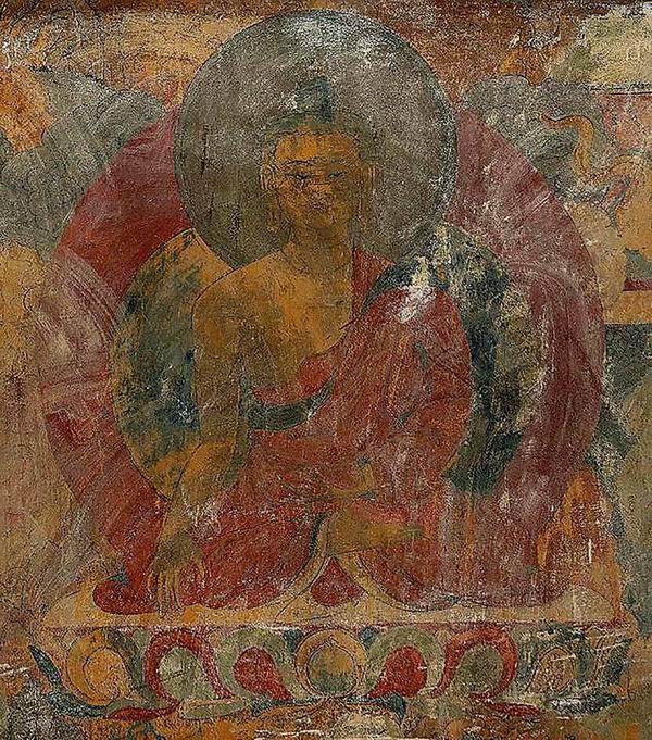 旧殿壁画与钦孜画派早期遗存