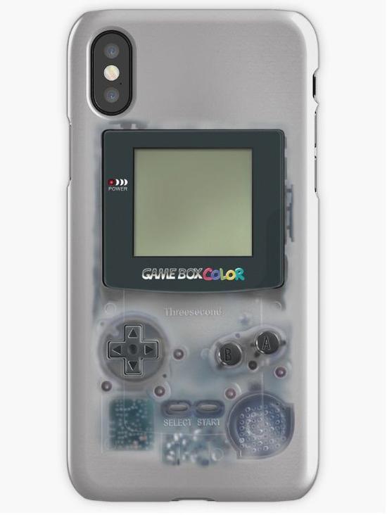 △苹果Iphone X复古半透明手机保护壳