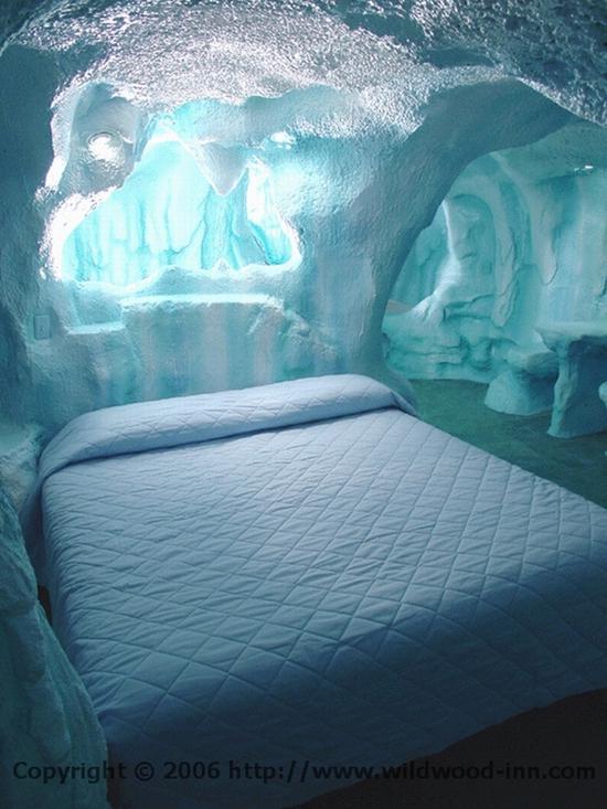 瑞典冰旅馆(Ice Hotel) 图片源自酒店官网