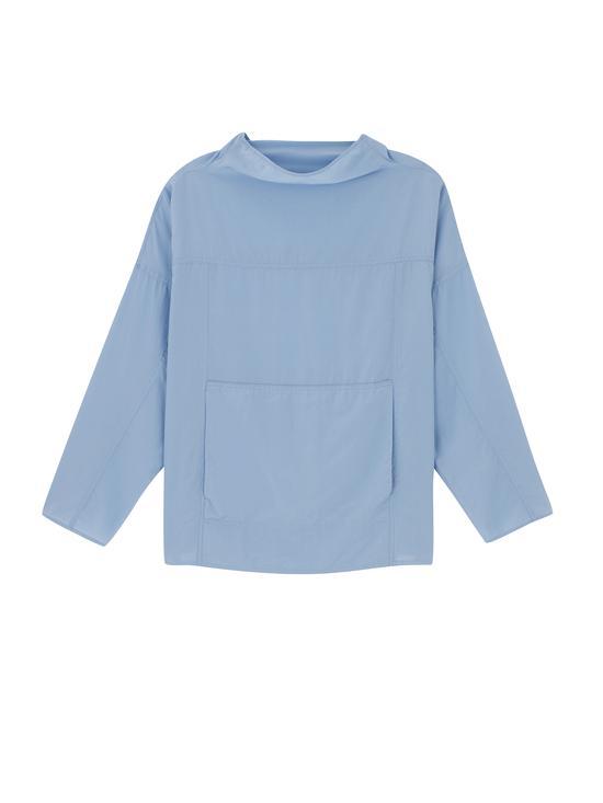 蓝色高领卫衣 COS