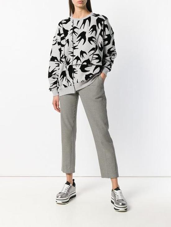 MCQAlexander McQueen针织上衣,Ps By Paul Smith VICHY格纹修身裤