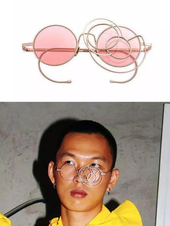 从左至右为1.VersaceSS19Men's fashion show.  2.GentlemonsterHALO HALO KG1   3.mieu-eyewear 月蚀系列