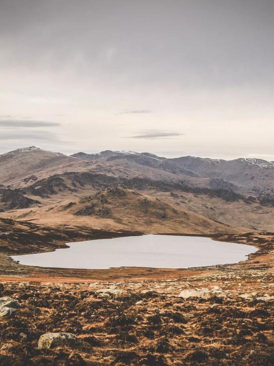 ▲小黑湖,苏格兰高地般的风景