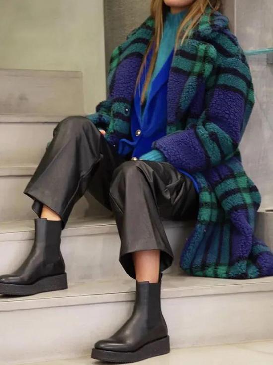 今年冬天少穿衣服的勇气 都是这款毛绒外套给我的