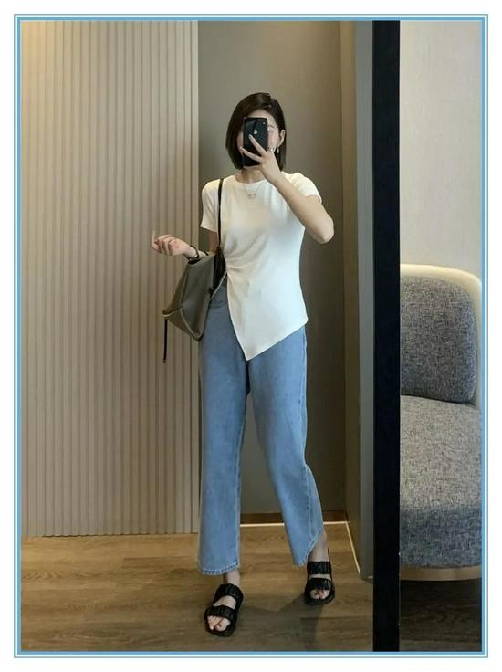 时髦精不会告诉你 夏天穿这3条牛仔裤冰爽藏肉还时髦