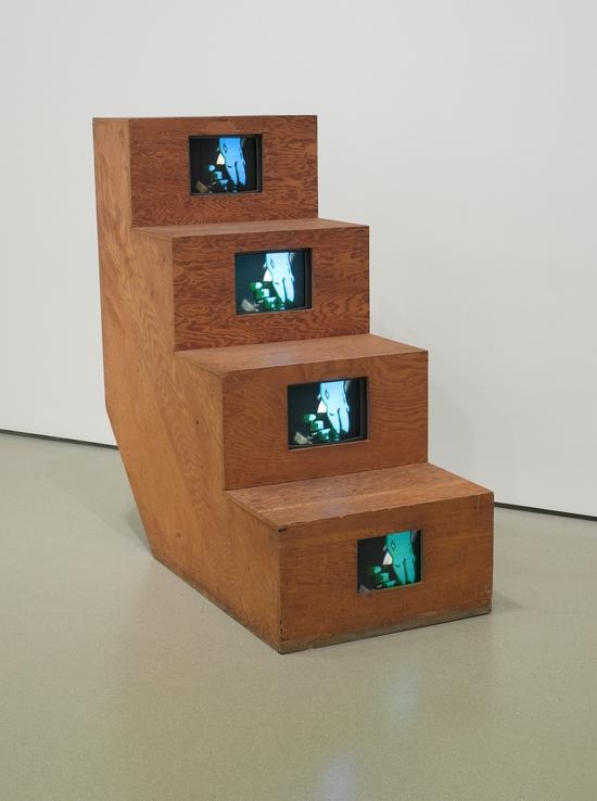 《Duchampiana:下楼梯的裸女》,久保田成子