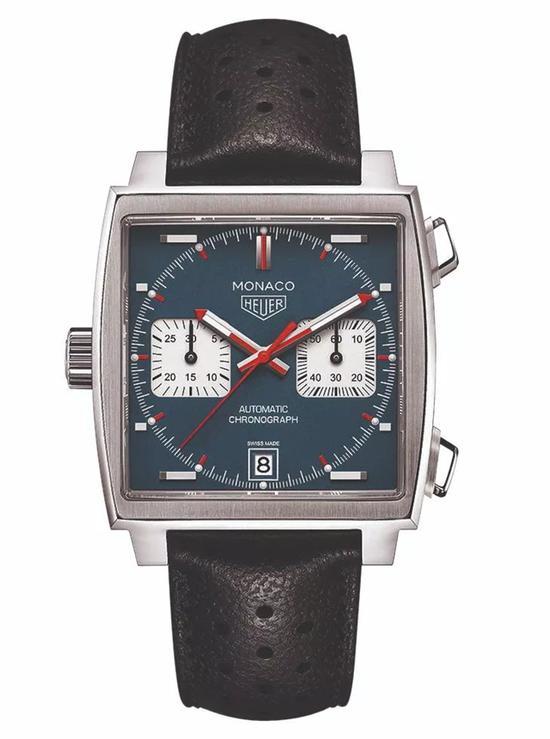 真力时十分之一秒计时Striking Tenth腕表/泰格豪雅Manaco系列Calibre 11腕表