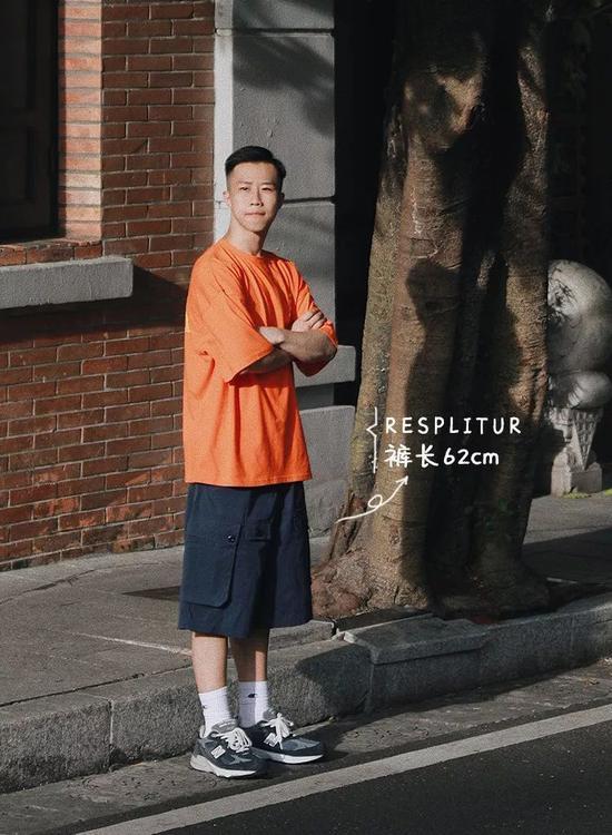 短袖:RESPLITUR / 短裤:RESPLITUR