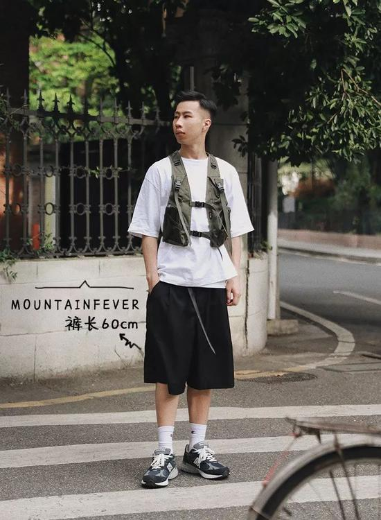 短袖:Uniqlo / 马甲:MOUNTAINFEVER / 短裤:MOUNTAINFEVER