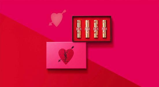 YSL一箭猎心4支口红礼盒 图片源自品牌