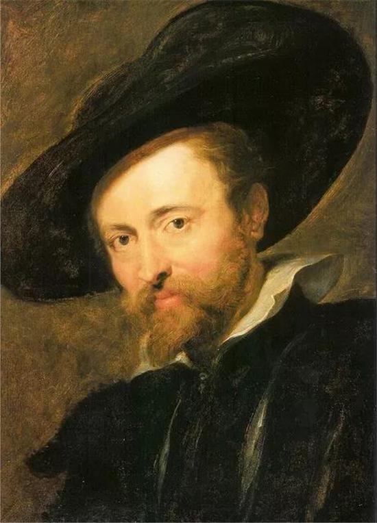 鲁本斯的自画像