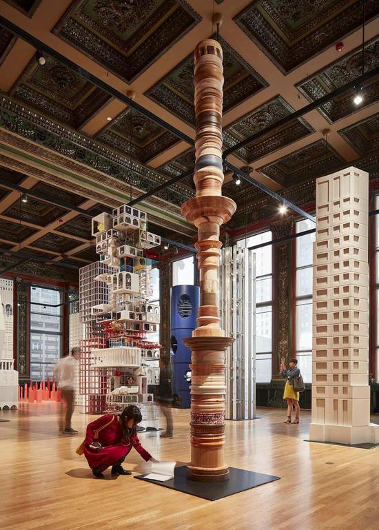 2017年芝加哥建筑双年展现场。图片:Tom Harris