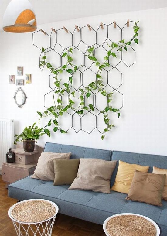 绿植上墙才时髦 图片源自trendehouse.com