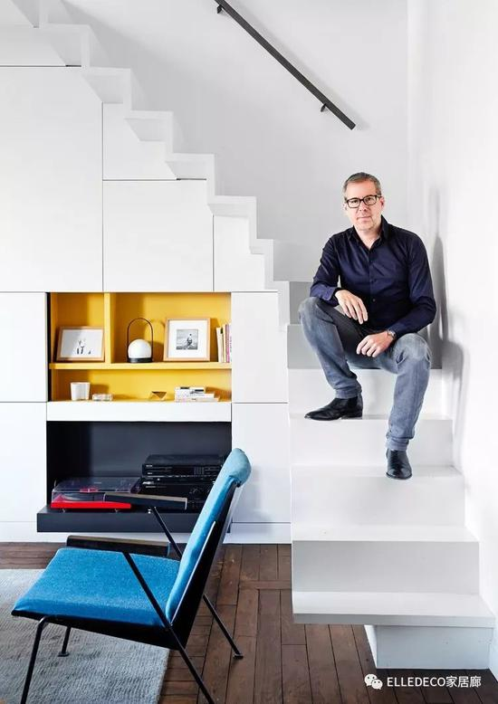 巴黎建筑设计师,屋主Philippe Harden。