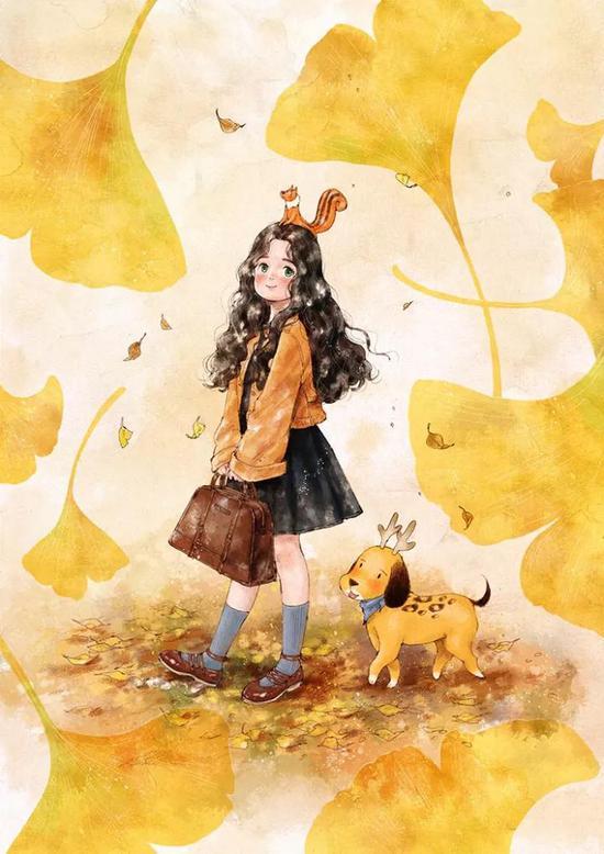 画风堪比宫崎骏 她画的独居女孩击中你柔软的心|插画师|画风|宫崎骏_新浪时尚_新浪网