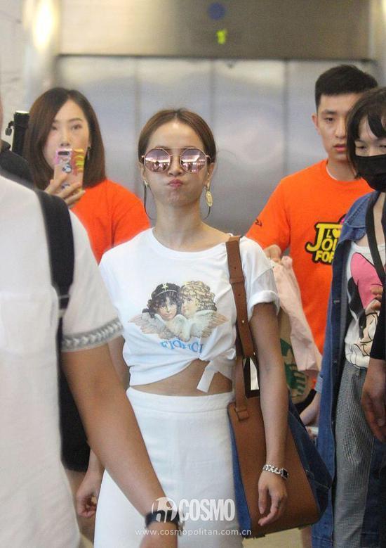 蔡依林Fiorucci T恤