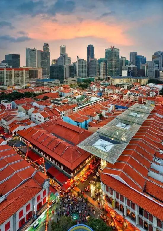 新加坡唐人街牛车水