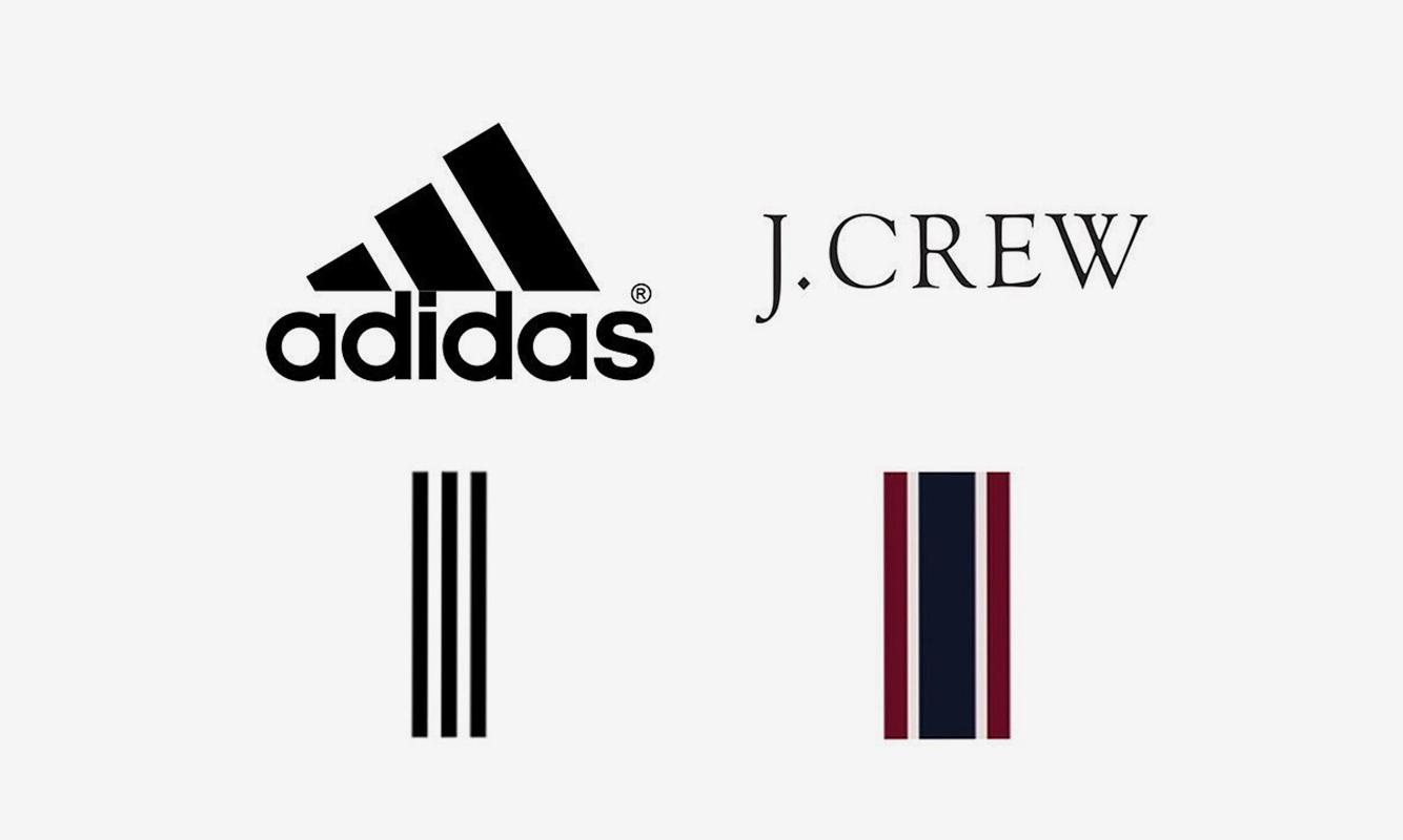 又是三道杠惹得祸 Adidas与J.Crew发生设计纠纷