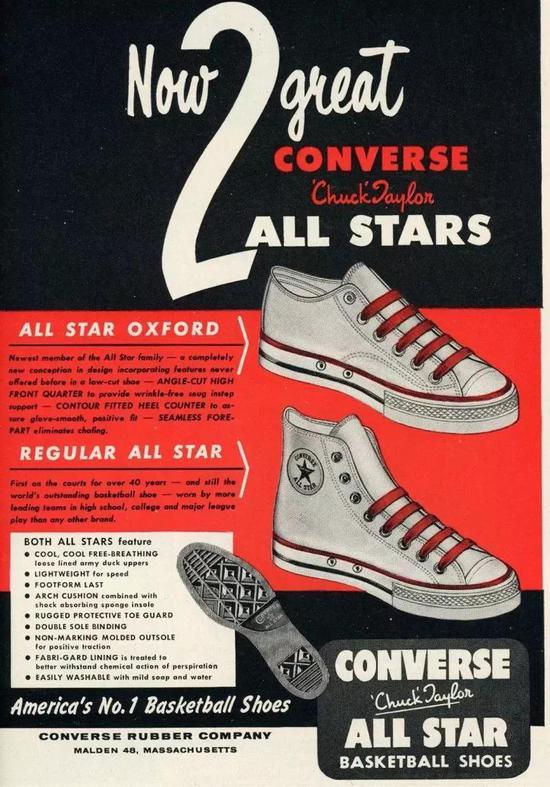 Converse 第一双 Chuck Taylor 的诞生