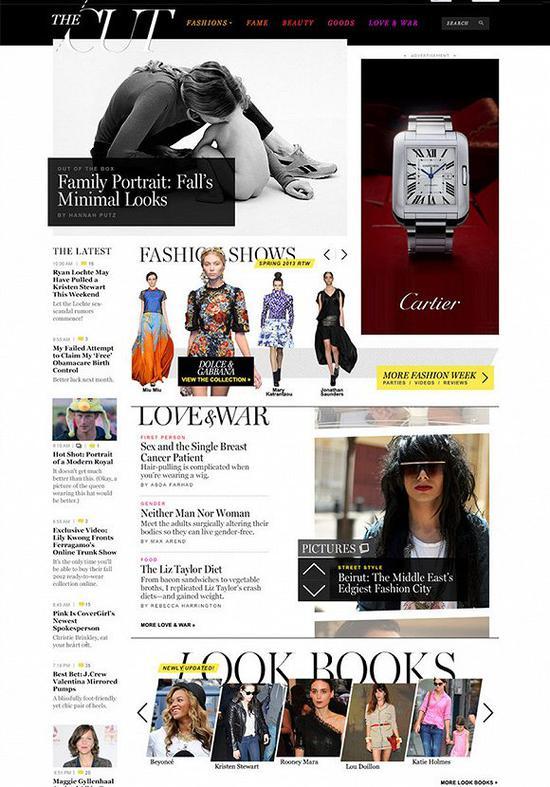 纸媒纷纷转战线上媒体 时尚网站The Cut却要反其道而行