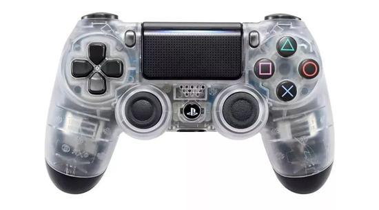 △索尼PS4游戏手柄透明版