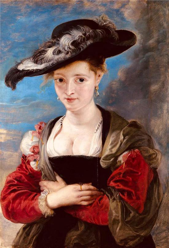 鲁本斯著名代表作之一《苏珊富曼夫人肖像》