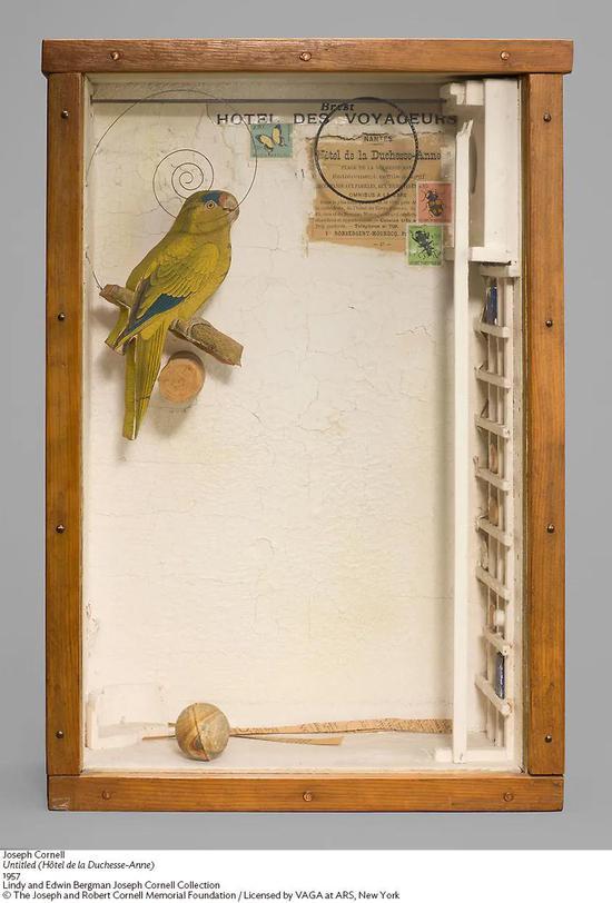 一叶洞天   约瑟夫·康奈尔与他的微型艺术世界