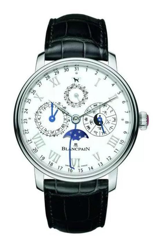 浓缩中华元素精华之宝珀Villeret中华年历款腕表