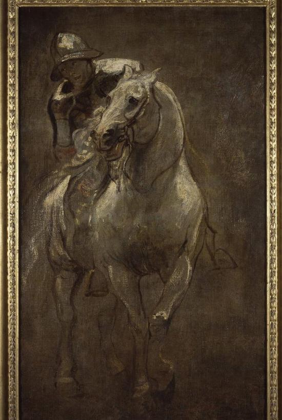 《马背上的士兵》(A Soldier On Horseback),Anthony Van Dyck,1616年
