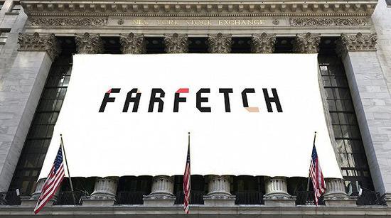 Farfetch在纽交所上市 图片来源:BoF