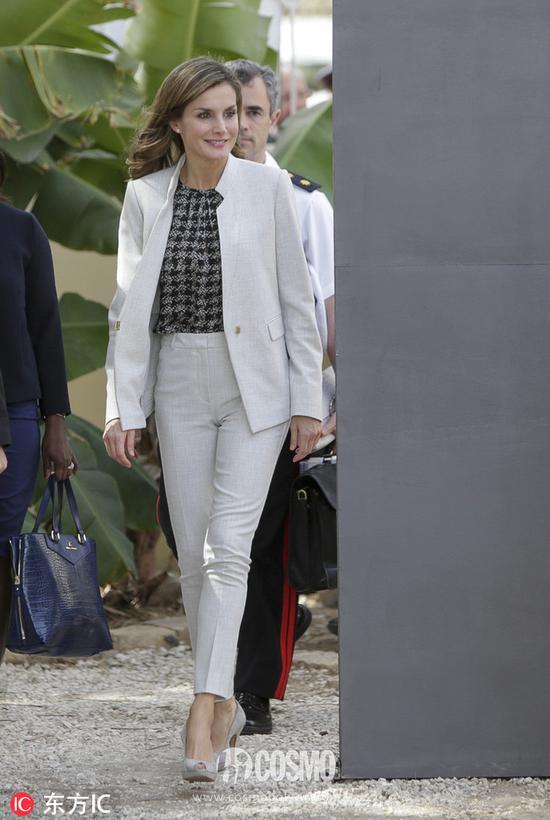 西班牙王后访问塞内加尔