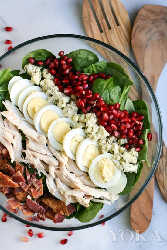 Cobb salad 图片来自pinester
