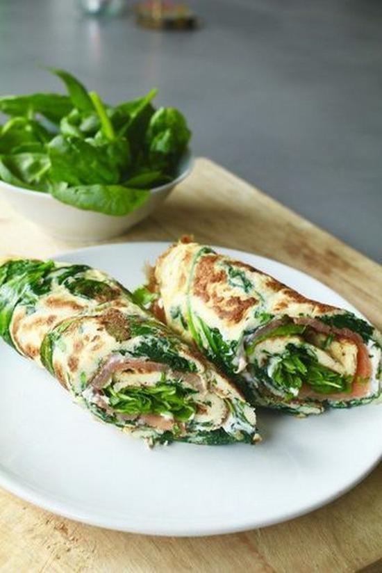 蔬菜雞蛋餅 圖片來源beaufood.nl