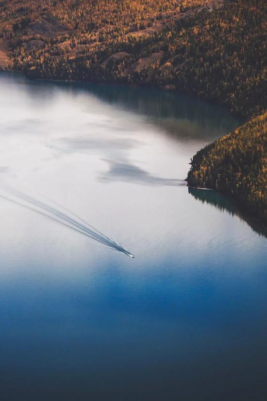 ▲喀纳斯湖,水怪终究只是个传说
