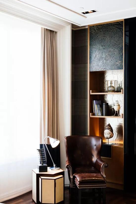 伦敦瑰丽酒店是Tony Chi的得意之作。