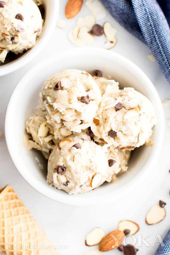 巴旦木冰淇淋 图片来自pinester