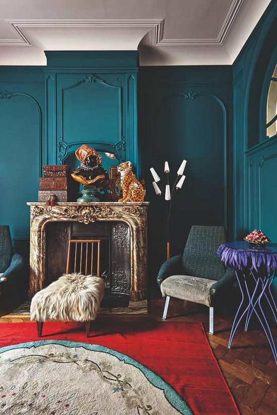 设计师 Maryam Mahdavi 创作的室内布景