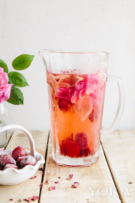 色彩鮮豔的水果是提升顏值的法寶 圖片來自countryliving.com