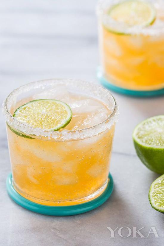 經典雞尾酒 瑪格麗特 圖片來自countryliving.com