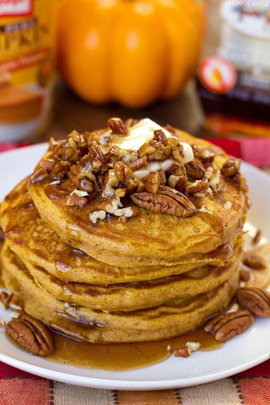 减脂早餐饼 一周不重样 图片源自 图片源自www.countryliving.com
