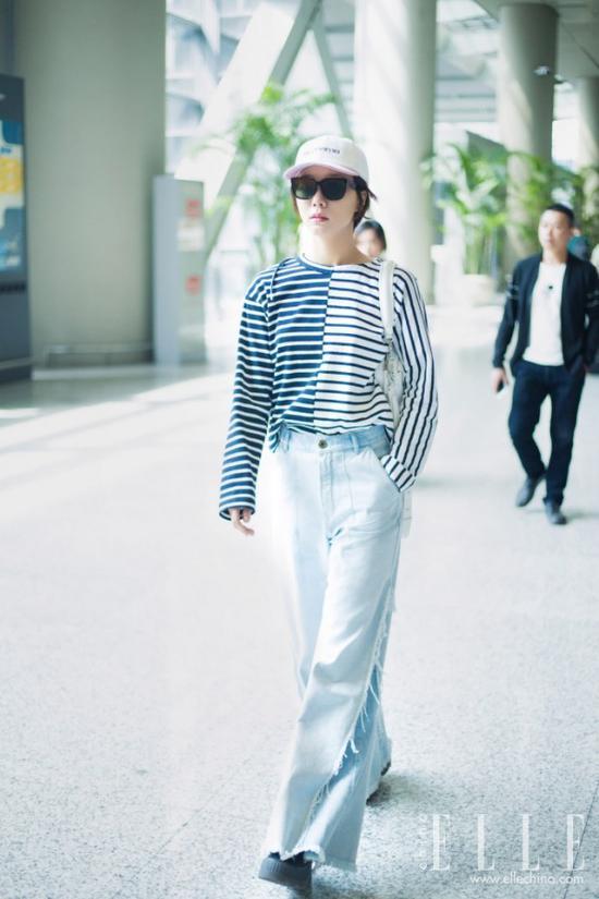 长袖T不仅保暖实穿,款式众多,好看时髦又别致的穿法也是多到一个不行!